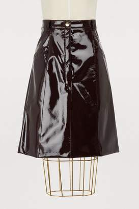 Nina Ricci Vinyl skirt