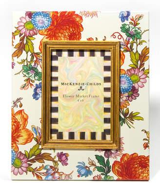 """Mackenzie Childs Flower Market Picture Frame, 4"""" x 6"""""""