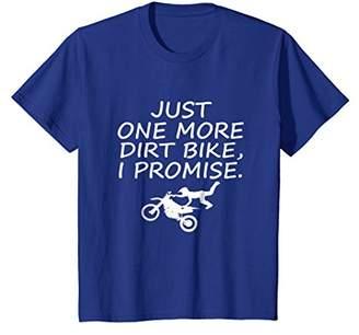 Just One More Dirt Bike I Promise Funny Motocross T-Shirt