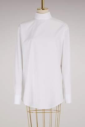 Jil Sander Stand Collar Cotton Shirt