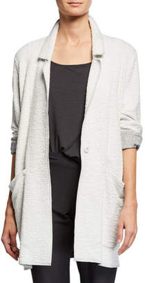 Eileen Fisher Missy Textured Boxy Jacket, Petite