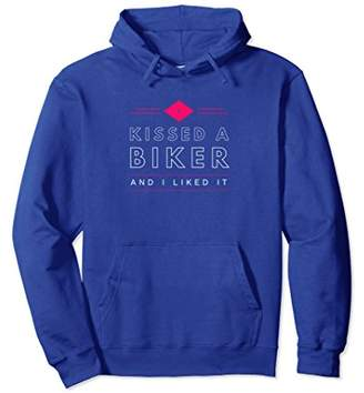 I kissed a biker and I liked it gift hoodie