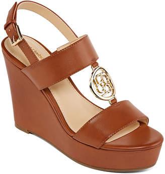 Liz Claiborne Womens Ivana Wedge Sandals