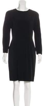 Krizia Vintage Long Sleeve Mini Dress