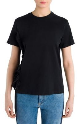 MSGM Short Sleeves Cotton Tee