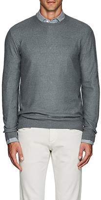 Loro Piana Men's Cashmere-Silk Crewneck Sweater