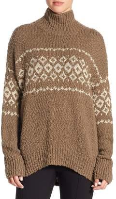 Vince Women's Fair Isle Turtleneck Sweater