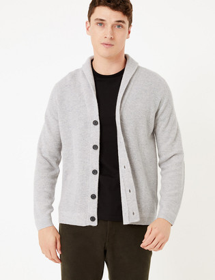 Marks and Spencer Pure Cashmere Shawl Neck Cardigan
