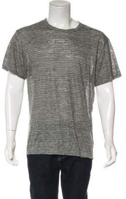 Alexander Wang Linen Crew Neck T-Shirt