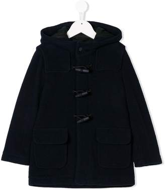 Il Gufo toggle fastening coat