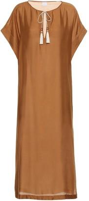 Max Mara Narvik silk-blend dress