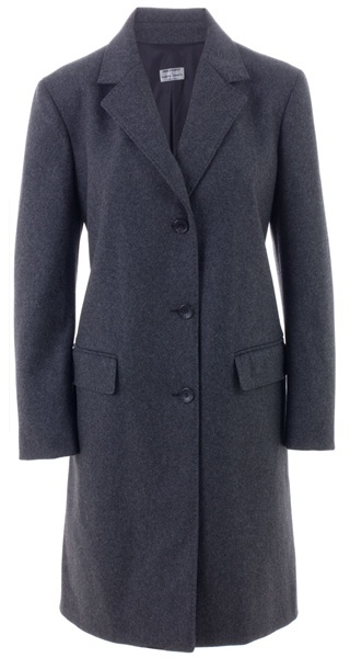 PHILOSOPHY DI ALBERTA FERRETTI - Gathered back wool coat