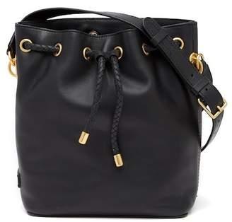 Cole Haan Benson II Leather Drawstring Bucket Bag