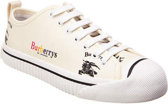 Burberry Kingly Archive Logo Canvas Sneaker