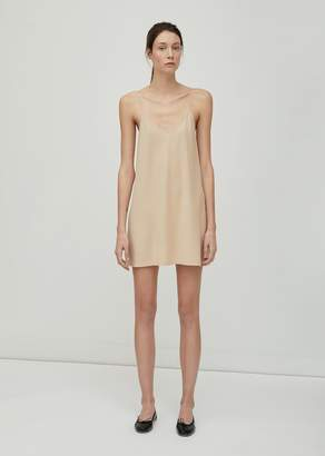 Skin Pima Cotton Slip Dress Nude