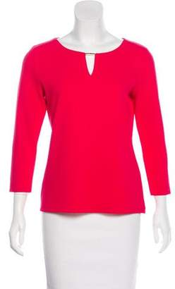 Calvin Klein Textured Long Sleeve Top