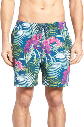 Tommy Bahama Naples Orchid Oasis Swim Trunk $68 thestylecure.com