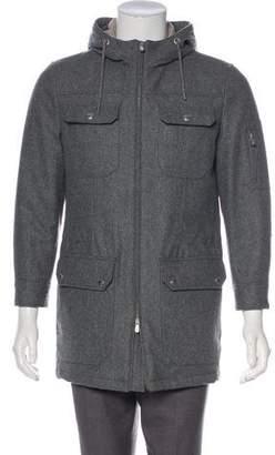 Brunello Cucinelli Hooded Zip-Up Coat