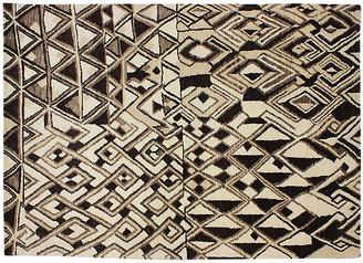 One Kings Lane Vintage Moroccan Design Rug - 6 x 9 - Keivan Woven Arts