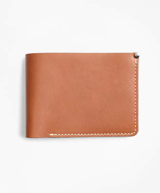 Brooks Brothers Cognac Leather Wallet