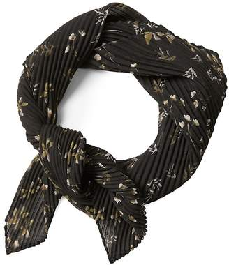 Banana Republic Sheer Floral Medium Square Scarf