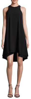 Double Layer High-Low Dress $109 thestylecure.com