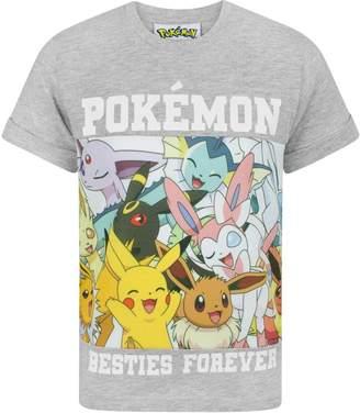Pokemon Besties Forever Boy's T-Shirt