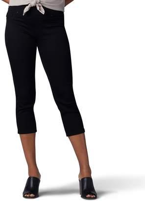 Lee Women's Pull-On Skinny Capri Jeans