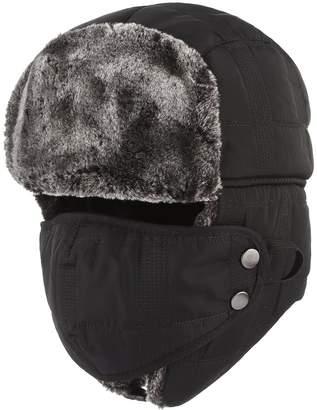 ab1e58c01fb Jelord Men Winter Faux Fur Trooper Trapper Hunting Hat Earflap Snow Ski Cap