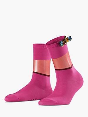 Falke Shiny Powder Ankle Socks