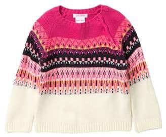 Joe Fresh Fair Isle Sweater (Baby Girls)