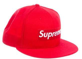 New Era x Supreme 2016 Wool Fitted Box Logo Hat