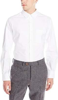 David Hart Men's Button Front Shirt-Slim
