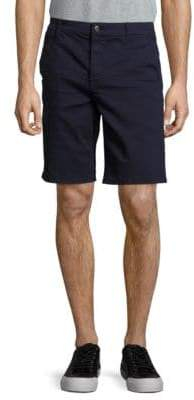 7 For All Mankind Stretch-Cotton Flat Front Shorts