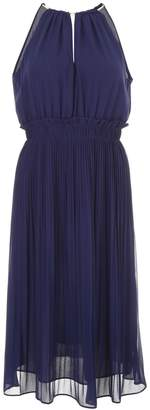 MICHAEL Michael Kors Pleated Georgette Dress