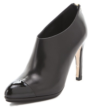 LK Bennett Ankle Booties with Back Zip