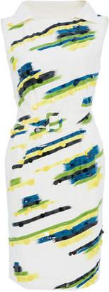 Moschino Embellished Poplin Dress