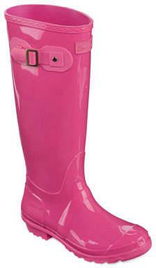 Seven7 SEVEN 7 Seven 7 Womens Rain Boots Waterproof Slip Resistant Flat Heel