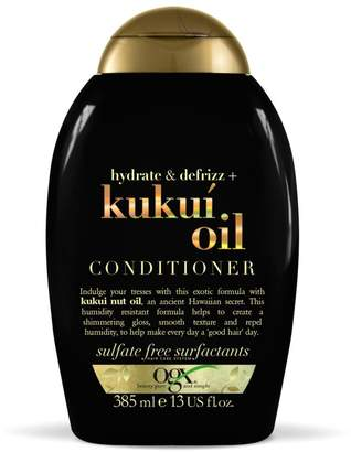 OGX Hydrate + Defrizz Kukui Oil Conditioner 385ml