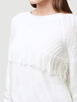 Frame Fringe Sweater