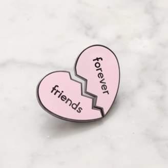 Alphabet Bags Friends Forever Enamel Pin Set