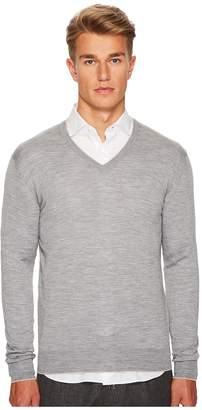 Eleventy Fine Gauge V-Neck Sweater Men's Sweater