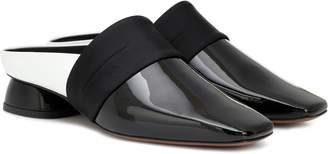 Neous Zygo patent leather slippers