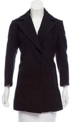 CNC Costume National Wool Short Coat