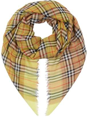 Burberry Two-Tone Vintage Check Scarf