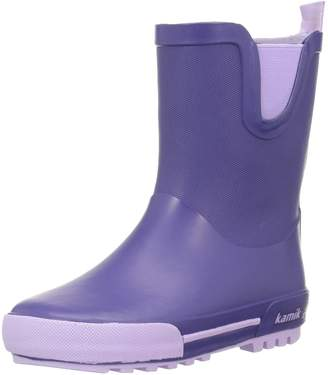 Kamik Girls' Rainplay Rain Boot