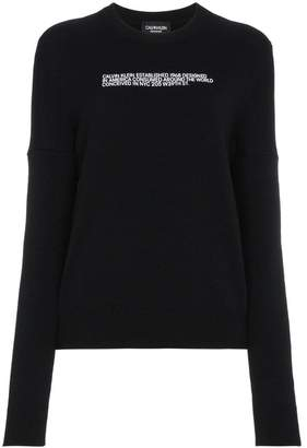Calvin Klein Embroidered Logo Pullover