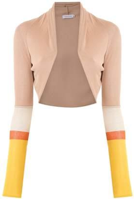 M·A·C Mara Mac knit cropped coat