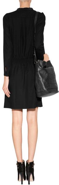 Vanessa Bruno Shirtdress in Black