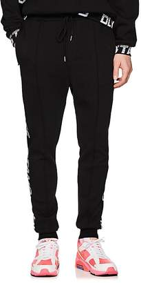 Stampd Men's Drive Logo-Jacquard Cotton-Blend Jogger Pants